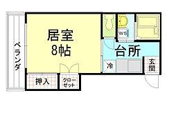 太田マンション[302号室]の間取り