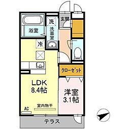 D-room Labo[2階]の間取り