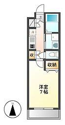 スタシオン泉[2階]の間取り