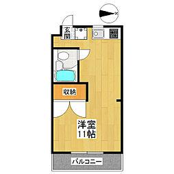 東京都世田谷区喜多見5丁目の賃貸マンションの間取り