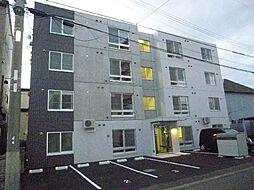 北海道札幌市東区北三十六条東19丁目の賃貸マンションの外観
