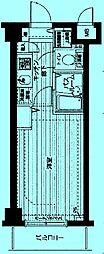 トーシンフェニックス武蔵新城[7階]の間取り