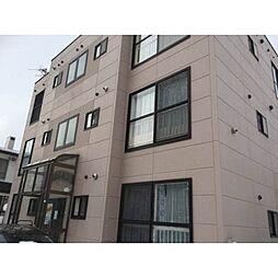 北海道札幌市西区発寒六条13丁目の賃貸アパートの外観