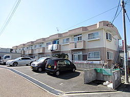 大阪府岸和田市西之内町の賃貸アパートの外観