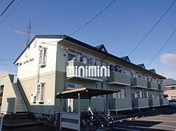 ハイツピーチヒル[2階]の外観