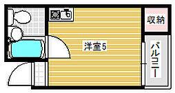 ラ・ピース塚本[707号室]の間取り