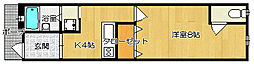 [テラスハウス] 大阪府守口市菊水通2丁目 の賃貸【/】の間取り