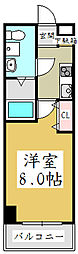 アルファコート西川口7[4階]の間取り