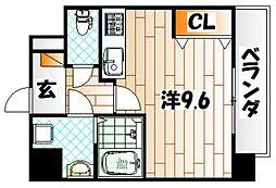 ドレスローザ[2階]の間取り
