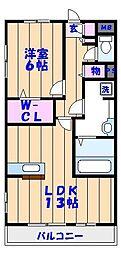 エクセル西船橋II[307号室]の間取り