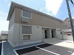 兵庫県神戸市北区杉尾台1の賃貸アパートの外観