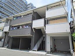 東京都江戸川区南葛西3丁目の賃貸アパートの外観