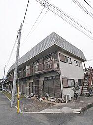 埼玉県志木市中宗岡1丁目の賃貸アパートの外観