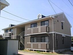 長野県松本市筑摩2丁目の賃貸アパートの外観