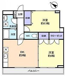 セブンステージ[3階]の間取り