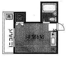 ランドフォレスト調布[1階]の間取り