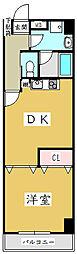 サニープレイス[5階]の間取り