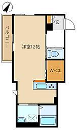 メゾン・ド・ソレイユ 205[2階]の間取り