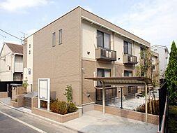 東京都葛飾区新宿1丁目の賃貸アパートの外観