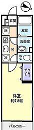 リブリ・リンドバーグ 1号[   2階号室]の間取り