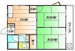 第一吉田ビル[2階]の間取り