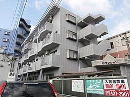 西マンション[3階]の外観
