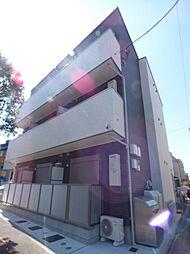 東京都江戸川区松江3丁目の賃貸アパートの外観