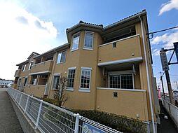 千葉県千葉市中央区赤井町の賃貸アパートの外観