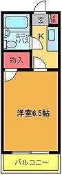 エレガンス綾瀬3[3階]の間取り