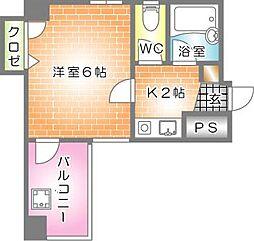 第2片山ビル--[301号室]の間取り