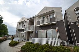 岡山県岡山市東区西大寺射越の賃貸アパートの外観