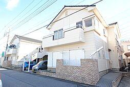 埼玉県越谷市蒲生4の賃貸アパートの外観