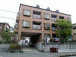 兵庫県川西市一庫3丁目の賃貸マンションの外観