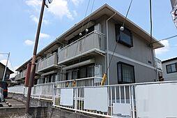 千葉県市川市中山1丁目の賃貸アパートの外観