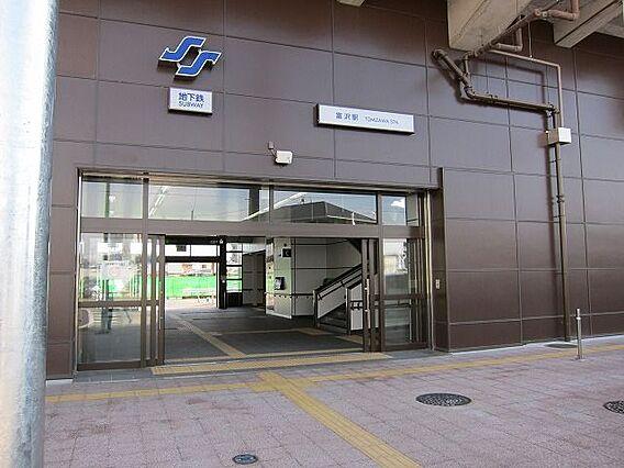 南北線富沢駅ま...