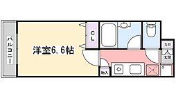 PARK SQUARE 津田沼[1階]の間取り