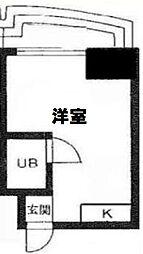TY BUILDING[B302号室]の間取り