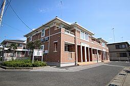 栃木県鹿沼市上石川の賃貸アパートの外観