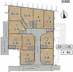 小金井市貫井北町3丁目 土地分譲 8区画