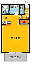 すずらんIII[1階]の間取り