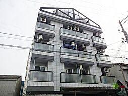 大阪府大阪市東住吉区照ケ丘矢田4丁目の賃貸マンションの外観