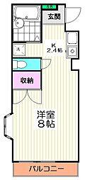 10144[3階]の間取り