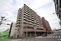 大阪府東大阪市長田中2丁目の賃貸マンションの外観