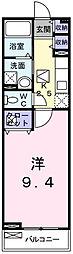 兵庫県姫路市手柄1丁目の賃貸アパートの間取り