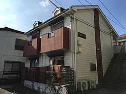 千葉県千葉市稲毛区轟町4の賃貸アパートの外観