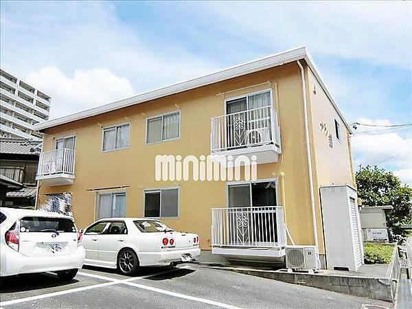 愛知県岡崎市東明大寺町の賃貸アパートの外観