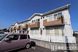 愛知県岡崎市東蔵前2丁目の賃貸アパートの外観