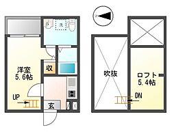 Attin-2[2階]の間取り