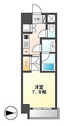 Comfort新栄(コンフォート新栄)[5階]の間取り