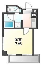 ラピスラズリ名駅[3階]の間取り